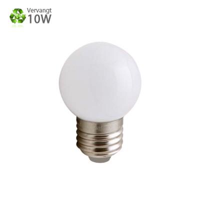 LED Kogellamp E27 Warmwit 1W