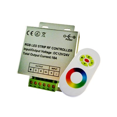 RGB-Controller Touch met Functieknoppen 12V/24V