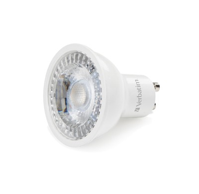 Verbatim GU10 LED spot 3,6 watt warm wit