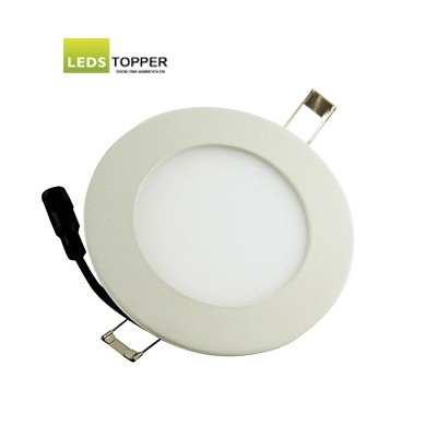 Platte LED Downlighter Rond 6 watt