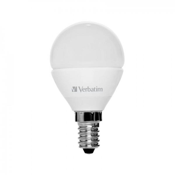 Verbatim LED Kogellamp E14 warm wit 3,5W