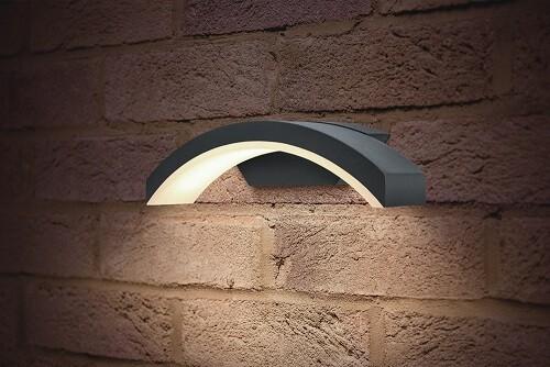 Integral LED wandarmatuur CURVE 7,5 watt 4000K neutraal wit IP54