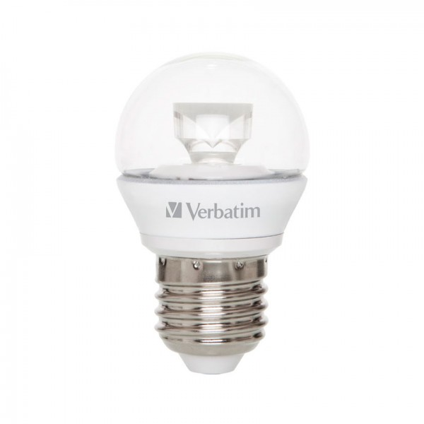 Verbatim LED Kogellamp E27 Warm wit 5,5W