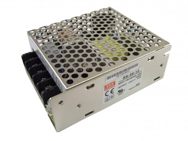 Mean Well LED Trafo 35 watt 12VDC 3A IP20