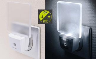Integral LED nachtlampje 0,6 watt neutraal wit 4000K met sensor