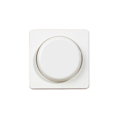 Dimmer draaiknop Fusion in wit
