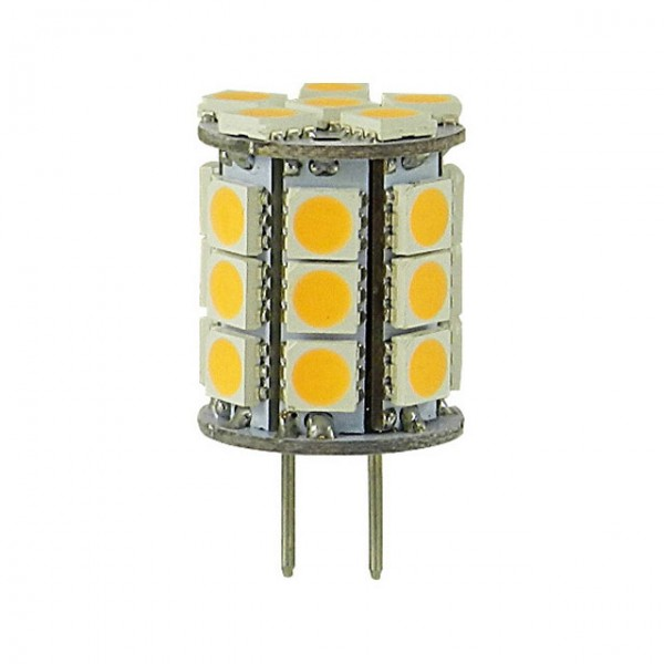 GY6.35 LED 3,1w extra warm wit 10-30v dimbaar