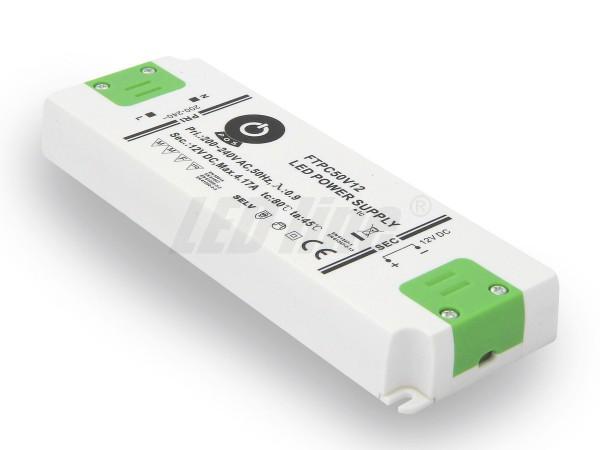 Inbouw LED trafo 50 watt 12VDC 4,1A IP20