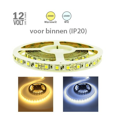 LED-strip IP20 60x5050 (extra sterk)