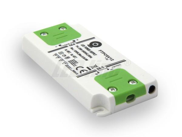 Inbouw LED trafo 6 watt 12VDC 0,5A IP20