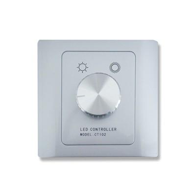 LED-dimmer inbouw met draaiknop 12V/24V