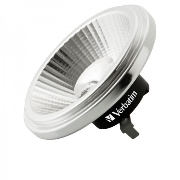 Verbatim LED spot G53 warm wit 10,5w dimbaar 25º