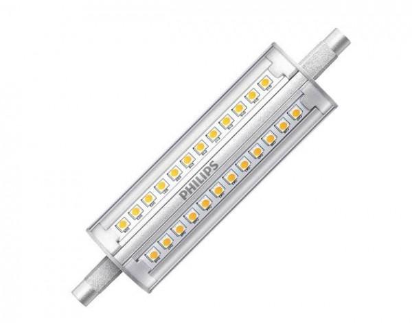 Philips R7s LED 14 watt warm wit dimbaar 118mm