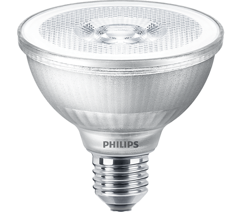 Philips PAR30S LED spot 9,5 watt extra warm wit 2700K dimbaar 25° lichthoek