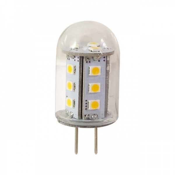 GY6.35 LED 2,6w extra warm wit 10-30v dimbaar
