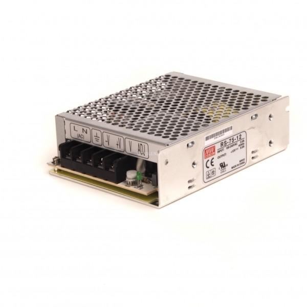 Mean Well LED trafo 75 watt 12VDC 6A IP20