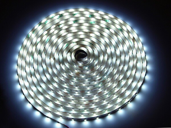 LED strip 12V 60 led's per meter 6500K daglicht wit IP20