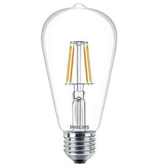Philips ST64 LED lamp retro 4,3 watt 2700K extra warm wit