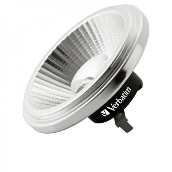 Verbatim LED spot G53 koel wit 10,5w dimbaar 25º