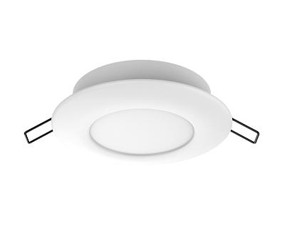 Integral LED downlighter 6 watt daglicht wit 6500K slimline