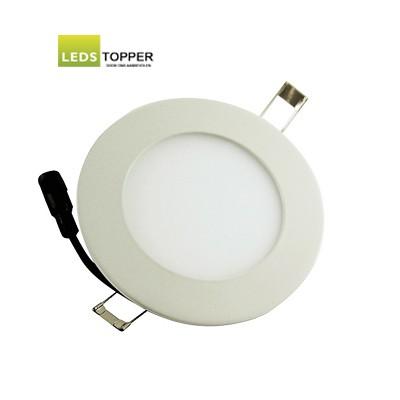 Platte LED Downlighter Rond 9 watt