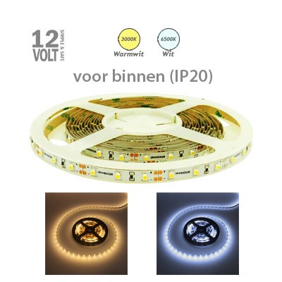 LED-strip IP20 60x3528 (sterk)