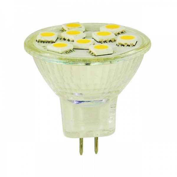 LED Spot GU4/MR11 Warm wit 1,5W 10-30v