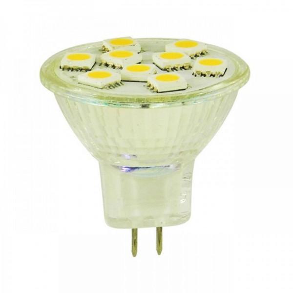 LED Spot GU4/MR11 Warm wit 1,5W 10-30v