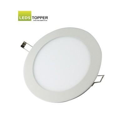Platte LED Downlighter Rond 12 watt