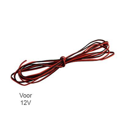 2-aderig Snoer voor 12V of 24V