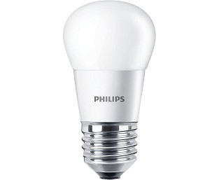 Philips LED kogellamp 4 watt extra warm wit 2700K frosted cover
