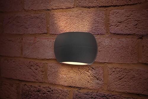 Integral LED wandarmatuur LUXSTONE 8,5 watt 3000K warm wit IP54