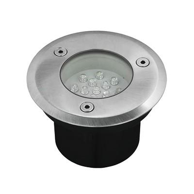 Grondspot Rond 14 LED's Warmwit 1,5W