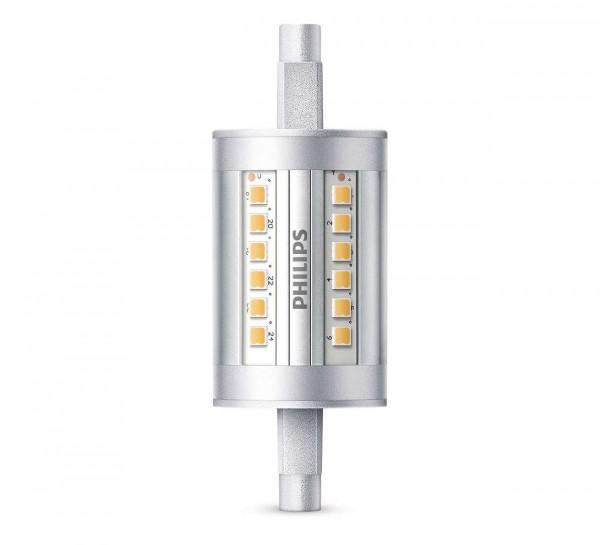 Philips R7s LED 7,5 watt warm wit 78mm