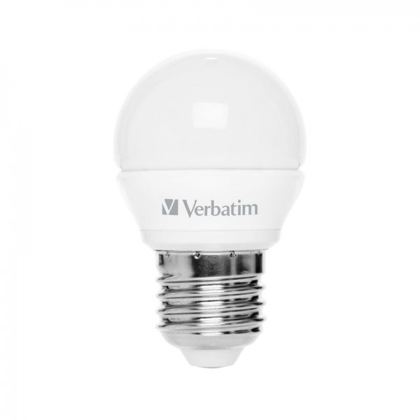 Verbatim LED Kogellamp E27 warm wit 3,5W