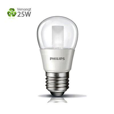 Philips LED Kogel E27 Grote Fitting 4W