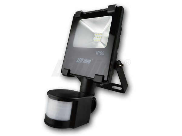 LED Bouwlamp 10 watt 4000K en sensor