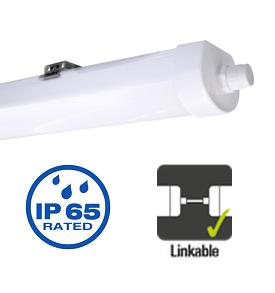 Integral LED armatuur 120cm 38 watt 4000K koppelbaar IP65