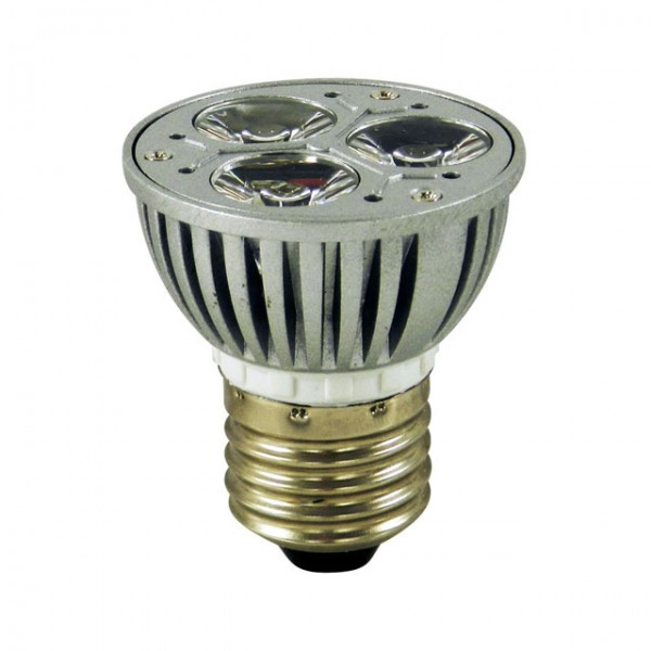 LED spot E27 warm wit 3w High power