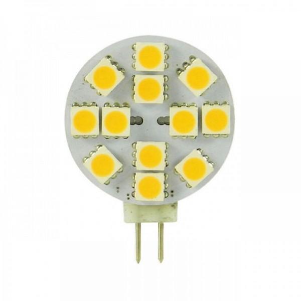 G4 LED 2,4w daglicht wit 10-30v dimbaar