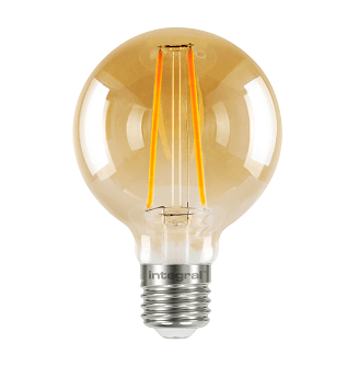 Integral G80 LED Globe retro 2,5 watt flame 1800K