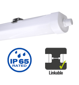Integral LED armatuur 60cm 18,5 watt 4000K koppelbaar IP65